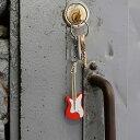 楽天アメリカ雑貨通販キャンディタワーギターのLEDサウンドキーリング(レッド) ■ アメリカ雑貨 アメリカン雑貨