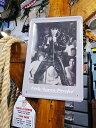 有名人&ミュージシャンのブリキポスター(エルヴィス・プレスリー/カムバックスペシャル) ■ サインプレート ブリキ アメリカ看板 ティンサイン サインボード アメリカンブリキ看板 アメリカ雑貨 アメリカン雑貨 レトロ ポスター アンティーク アメリカン