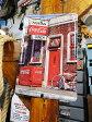 コカ・コーラのブリキポスター(ソーダファウンテン) ■ アメリカ雑貨 アメリカン雑貨 壁掛け 壁飾り インテリア雑貨 おしゃれ 人気 アンティーク 壁面装飾 絵 装飾 ディスプレイ 内装 ウォールデコレーション コカコーラグッズ Coca-Cola ブリキ看板 サインプレート コーラ