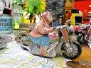 懐かしのブリキのおもちゃ クラシックバイク ■ アメリカ雑貨 アメリカン雑貨