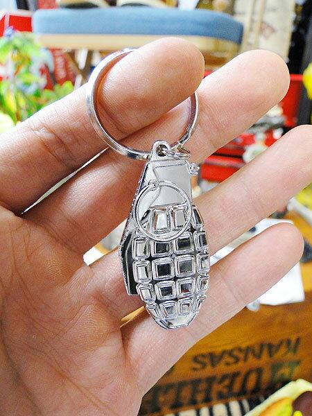 ミリタリーメタルキーリング(手榴弾) ■ アメリ...の商品画像