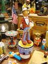 タップダンサーのブリキのおもちゃ(白人) ■ アメリカ雑貨 アメリカン雑貨