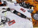 ハーレーダビッドソンのキーリング(レザーベルト) ■ アメリカ雑貨 アメリカン雑貨 アメリカ 雑貨 キーホルダー おしゃれ メンズ キーリング 鍵 人気のアメリカ雑貨屋 ブランド かわいい ファッション 小物 ロゴ おもしろ グッズ ギフト 革 レザー harley davidson