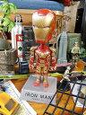 アイアンマン3のボビングヘッド ■ アメリカン雑貨 ヘッドノッカー アメリカ雑貨 ボブルヘッド インテリア オブジェ 置物 アメ雑貨 首振り人形 インテリアグッズ ボビンドール アメキャラ アメコミ 映画