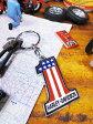 ショッピングハーレーダビッドソン 鉄馬ロゴをいつもポケットにどうぞ! ハーレーダビッドソンのメタルキーリング(ナンバーワンロゴ/星条旗) ■ アメリカン雑貨 人気 アメリカ雑貨 通販 インテリアグッズ かっこいい男の部屋 アメリカン雑貨 小物 キーホルダー ファッション harley davidson