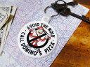 ドミノピザ ノイドのラバーキーリング ■ アメリカ雑貨 アメリカン雑貨 アメリカ 雑貨 キーホルダー