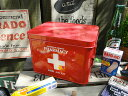 あえて目立つ所に置いておきたい♪ファーマシーボックス 救急箱 ■ アメリカ雑貨 アメリカン雑貨 小物入れ おしゃれ かわいい 生活雑貨