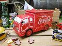 コカ・コーラブランド デリバリートラックのクッキージャー ■ コカコーラグッズ 雑貨 グッズ ブランド Coca-Cola アメリカ雑貨 アメリカン雑貨 コーラ 置物 インテリア おしゃれ 人気 小物 生活雑貨 アメリカ 雑貨 通販
