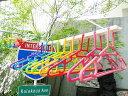 サニーレインボー フォルダブルハンガー10連 ■ アメリカ雑貨 アメリカン雑貨 通販