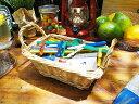 ミニフードパッケージ アソート ランドリーセット(籐カゴ入り) ■ アメリカ雑貨 アメリカン雑貨
