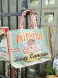 そうそう出会えない、この可愛さ♪フレンチアメリカン ショッピングバッグ(カップケーキ) ■ アメリカ雑貨 エコバッグ エコトート アウトドア 生活雑貨 おしゃれ バーベキュー キャンプ 簡易 バス 風呂 ポーチ 温泉 バッグ