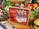 コカ コーラブランド ランチボックス(カートンボックス) ■ コカコーラグッズ 雑貨 グッズ ブランド Coca-Cola アメリカ雑貨 アメリカン雑貨 コーラ 置物 インテリア おしゃれ 人気 小物 こだわり派が夢中になる 人気のアメリカ雑貨屋