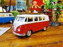 1963年サーフワーゲンバスのミニカー(レッド) ★アメリカ雑貨★アメリカン雑貨★アメ雑貨