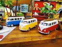 1963年サーフワーゲンバスのミニカー(3色セット) ★アメリカ雑貨★アメリカン雑貨★アメ雑貨