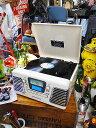 【全国送料無料】フィフティーズ・レコードCDプレーヤー ミラノ ■ アメリカン雑貨 アメリカ雑貨