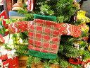 80年代のアグリーセーターのオーナメント(ジングルベル) ■ 飾り インテリア 装飾 ガーランド メリー クリスマス ディスプレイ xmas デコレーション ツリー パーティーグッズ オーナメント アメリカン雑貨 プレゼント ギフト 人気