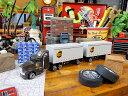UPSトレーラーのミニカー ■ アメリカ雑貨 アメリカン雑貨 アメ車 こだわり派が夢中になる人気のアメリカ雑貨屋 小物 モデルカー 正規品 おしゃれ ガレージグッズ ミニカー