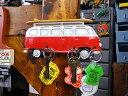 ワーゲンバスのキーラック(サイドシルエット) ■ アメリカ雑貨 アメリカン雑貨