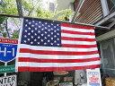 星条旗のナイロンフラッグ(3×5) ■ アメリカ雑貨 アメリカン雑貨 アメ雑貨 アメ雑 アメリカン雑貨 通販 インテリア雑貨 かっこいい 人気 おしゃれ 壁飾り