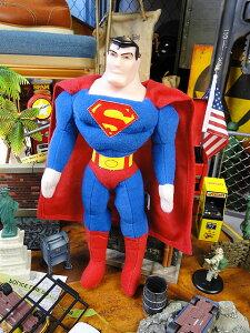 スーパーマンのぬいぐるみ ■ アメリカ雑貨 アメリカン