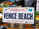 カリフォルニア州のライセンスプレート(ベニスビーチ) ■ ナ