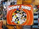ルーニー・テューンズのブリキ看板 オールスター ■ サインプレート ブリキ アメ