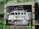 カリフォルニアMDFボード(サーフワゴン) ■ アメリカ雑貨 アメリカン雑貨