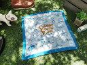 スーベニアクロスのハンカチーフ(サンデービーチパーク) ■ アメリカ 雑貨 アメリカン雑貨 ハワイ 雑貨 ハワイアン
