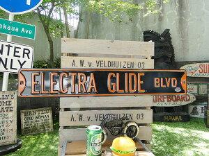 ハーレーダビッドソンのストリートサイン(エレクトラ