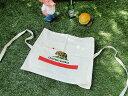 カリフォルニア州旗のエプロン ■ アメリカ雑貨 アメリカン雑貨