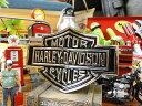 ハーレーダビッドソン 3Dエンブレムステッカー(ゴールド) ■ アメリカ雑貨 アメリカン雑貨 ステッカー アメリカン雑貨 車 バイク スーツケース デカール シール オリジナル カーアクセサリー カッコイイ 世田谷ベース