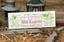 チーズボックスのミニウッドサイン(オールドイングリッシュ) ■ アメリカ雑貨 アメリカン雑貨 サインプレート 壁面装飾 内装 インテリ..