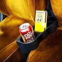 シートウェッジカップホルダー(ブラック) ■ カーアクセサリー ■ アメリカ雑貨 アメリカン雑貨