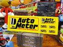 レーシングステッカー オートメーター ■ アメリカ雑貨 アメリカン雑貨 ステッカー アメリカン雑貨 車 バイク スーツケース デカール シール オリジナル アルファベット 世田谷ベース ヘルメット