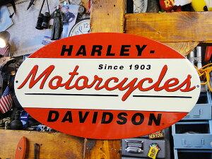 ハーレーダビッドソンのエンボスティンサイン(1903オ