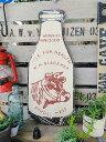 楽天アメリカ雑貨通販キャンディタワー昔のアドバタイジングのウッドサイン(ミルクボトル・カウ)■ 楽天1位 木製 ウッド アメリカ 看板 サインプレート サインボード アンティーク アメリカン雑貨 アメリカン雑貨 木製看板 アメリカ 雑貨 壁飾り 壁面装飾 人気 おしゃれ 男前 インテリア
