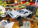 バック・トゥ・ザ・フューチャー2のデロリアンのミニカー 1/24スケール(フライングホバーバージョン) ■ アメリカ雑貨 アメリカン雑貨