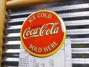 コカ・コーラのマグネットシート(レッドラウンド) ■ コカコーラグッズ 雑貨 グッズ ブランド Coca-Cola アメリカ雑貨 アメリカン雑貨 ステーショナリー 文房具 磁石 おしゃれ アメリカ 雑貨 おもしろ 人気