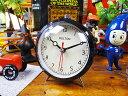 10年経ってもカッコイイ・・・ ダルトン クォーツアラームクロック(ブラック) ■ アメリカ雑貨 アメリカン雑貨 目覚まし時計 おしゃれ おもしろ アラームクロック めざまし時計 かっこいい プレゼント 置き時計 アメリカ 雑貨 インテリア