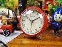 10年経ってもカッコイイ・・・ ダルトン クォーツアラームクロック(レッド) ■ アメリカ雑貨 アメリカン雑貨 目覚まし時計 おしゃれ おもしろ アラームクロック めざまし時計 かっこいい プレゼント 置き時計 アメリカ 雑貨 インテリア