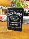 ジャック・ダニエルのジッポーライター(ブラック) ■ アメリカ雑貨 アメリカン雑貨