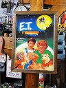 ポスターフレーム(E.T./フレンズ) ■ アメリカ雑貨 アメリカン雑貨 壁掛け 壁飾り インテリア雑貨 おしゃれ 人気 アンティーク 壁面装..