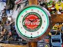 コカ・コーラのネオンクロック(サーストクエンチング) ■ 壁...