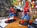 スパイダーマンのミニフィギュア 2体セット ■ アメリカン雑貨 アメリカ雑貨 アメキャラアメコミ マーベル