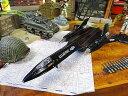 アメリカ軍の戦闘機モデルエアプレーン(SR-71 ブラックバード) ■ アメリカ雑貨 アメリカン雑貨