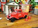 迷你車 - 1934年フォード モデルA ピックアップのダイキャストミニカー 1/43スケール ■ コカコーラグッズ ミニカー 雑貨 グッズ ブランド Coca-Cola アメリカ雑貨 アメリカン雑貨 アメ車 コーラ 置物 インテリア おしゃれ 人気 小物