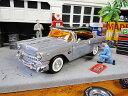 Jada20周年アニバーサリーモデル 1956年シボレー・ベルエアのダイキャストモデルカー 1/24スケール