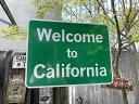 アメリカン・トラフィックサイン(ウェルカム・カリフォルニア)