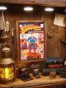ポスターフレーム(ジャイアントスーパーマン) ■ アメリカ雑貨 アメリカン雑貨 壁掛け 壁飾り インテリア雑貨 おしゃれ 人気 アンティーク 壁面装飾 絵 装飾 ディスプレイ 内装 ウォールデコレーション アメキャラ アメコミ ポスター