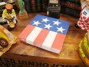 パーティーにはコレ!!アメリカン気分を満喫できます♪星条旗のペーパーナプキン(Lサイズ)